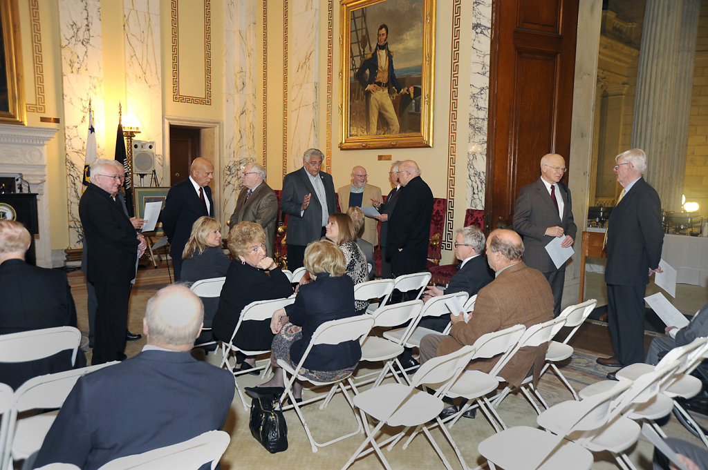 The Dorr Dedication Ceremony, November 5, 2014