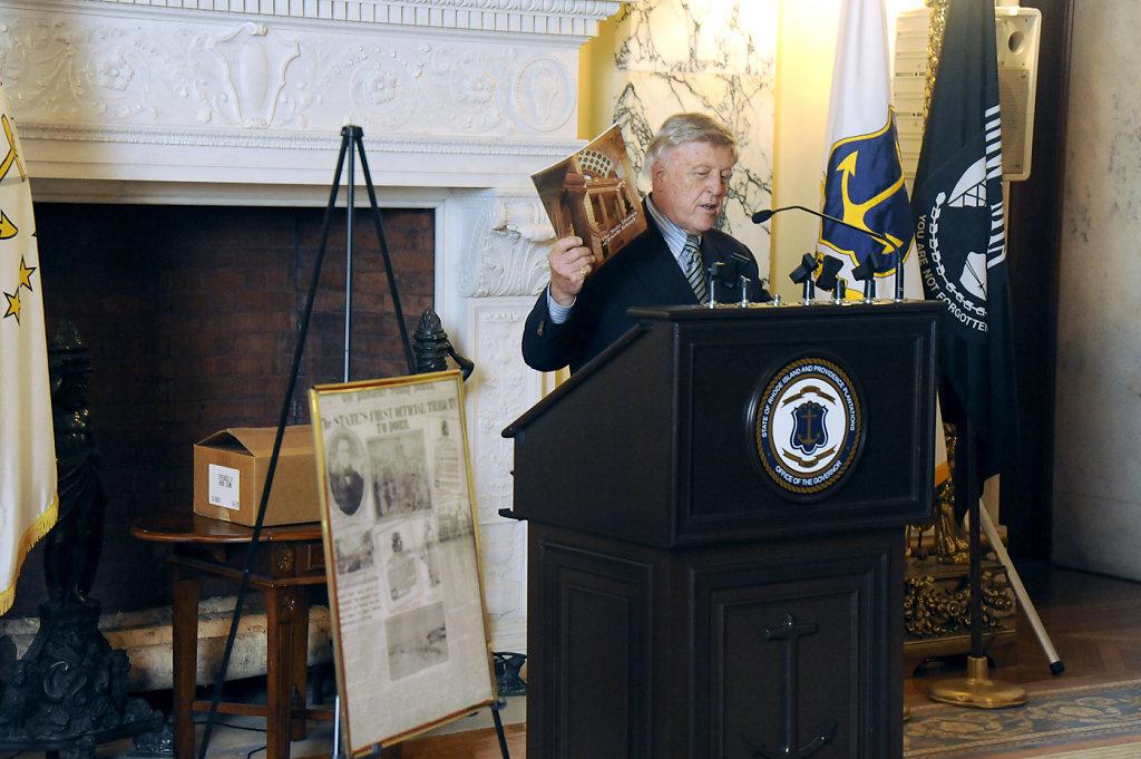 The Dorr Dedication Ceremony, November 5, 2014