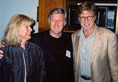 Pat and Gail host Robert Redford